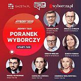 """Wyborczy poranek Radia Tok FM, portalu Gazeta.pl i """"Gazety Wyborczej"""""""