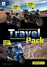 """CU reklamuje motocykle Suzuki w ofercie """"Travel Pack"""""""