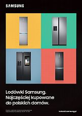 Najczęściej kupowane do polskich domów – kampania lodówek Samsung