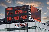 Zegar w centrum Warszawy odlicza do katastrofy klimatycznej