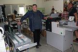 Bigówko-falcerka Foldmaster Touchline CF-375 w drukarni Grafix-Bis