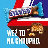 Weź to na chrupko – startuje kampania Snickers Crisp