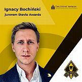 Ignacy Bochiński jurorem Stevie Awards