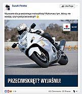 Suzuki i Communication Unlimited wysuwają się na prowadzenie w social media
