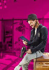 Tymoteusz Pięta w kampanii T-mobile
