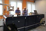 Cyfrowa maszyna Konica Minolta Accurio Label 190 w drukarni Unidruk