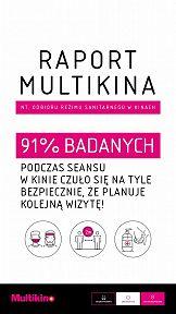 Widzowie czują się bezpiecznie w kinach sieci Multikino
