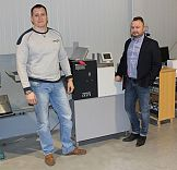 Bigówko-falcerka Multigraf Touchline CF-375 w drukarni Wydruk