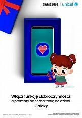 Smartfony Samsung z #Funkcjądobroczynności: Swiąteczna kampania marki
