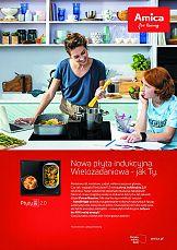 Płyty indukcyjne 2.0 od Amica – rusza nowa kampania produktowa