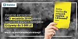 #Nieduś - nowa kampania antysmogowa miasta Kraków