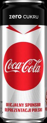 Limitowana edycja puszek Coca-Cola Zero Cukru