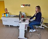 Ploter Sinajet w drukarni Compus
