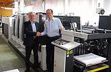 Maszyna Komori Lithrone GL-429+C w Częstochowskich Zakładach Graficznych