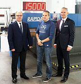 Maszyna offsetowa Koenig & Bauer w drukarnii Know How