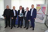 """DKS ze statusem """"Fiery Platinum Partner"""" firmy EFI"""
