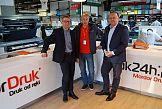 Produkcyjne rozwiązania Konica Minolta w firmie Druk24h
