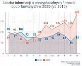 Rekordowa skala niewypłacalności firm w Polsce