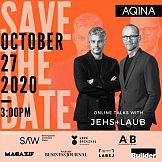 27 października webinar z udziałem Jehs i Laub