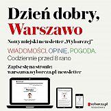 """""""Dzień dobry"""" - 20 newsletterów lokalnych Wyborcza.pl"""