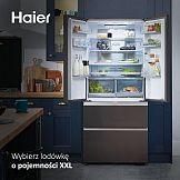 Haier reklamuje system antybakteryjny w lodówkach French Door