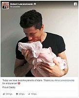 Jeden post Roberta Lewandowskiego na Facebooku wart pół miliona złotych