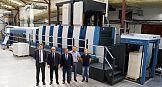 Rapida 105PRO-6+L ALV3 w drukarni Karton-Pak Cieszyn