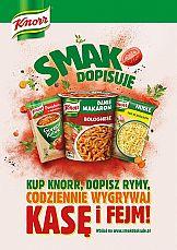 Aktywacja konsumencka kategorii snacków Knorr