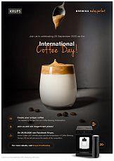 Dzień Kawy okazją do rozwoju marki Krups