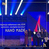 Hand Made w gronie czterech najlepszych agencji reklamowych w Polsce