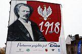 """Enea funduje kolejny """"mural patriotyczny"""" - tym razem w Lesznie"""