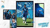 Wyjazdowy strój Olympique de Marseille na sezon 2021/2022