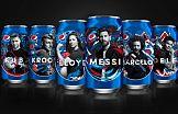 Piłka i słynni piłkarze w globalnej kampanii Pepsi
