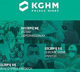 #Szczepimysię – KGHM z kampanią dla pracowników miedziowej spółki