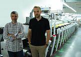 Maszyna fleksograficzna Mark Andy Performance Series w drukarni Reganta