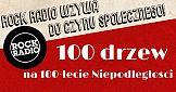 """""""100 drzew na 100-lecie niepodległości"""" od Rock Radia"""