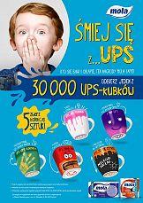 """""""Śmiej się z… UPS""""- promocja marki Mola"""