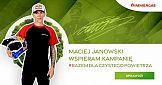 Maciej Janowski w kampanii #razemdlaczystegopowietrza