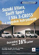 Kampania hybrydowych samochodów Suzuki