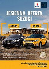 "Communication Unlimited: Kampania ""Jesienna Oferta Suzuki"""