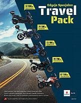 Suzuki reklamuje specjalną wersję motocykli Travel Pack