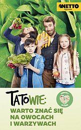 Tatowie, owoce i warzywa w kampanii Netto