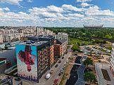Wielka sztuka na budynkach - nowy trend w budownictwie mieszkaniowym