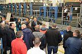 Trzecie spotkanie klubu VSOP w zakładach Koenig & Bauer w Radebeul