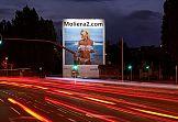 Oczyszczający powietrze mural Moliera2.com