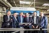 Trzecia maszyna wielkoformatowa Koenig & Bauer w firmie Werner Kenkel