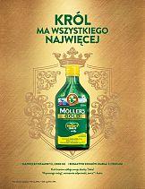Communication Unlimited z królewską kampanią dla Möller's Gold