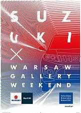 Communication Unlimited dla Suzuki na Warsaw Gallery Weekend