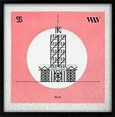 Typografy Warszawskie: Serigrafia i architektura stolicy