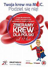 11. edycja kampanii Zbieramy Krew dla Polski